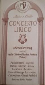 locandina concerto 2004
